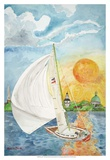 Day Sail Posters by Kaeli Smith