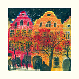 Gable Ends, Brussels Prints by Susan Brown