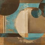 Blue Visionary II Print by Patricia Quintero-Pinto