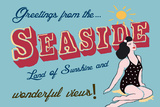 Seaside Greetings Posters