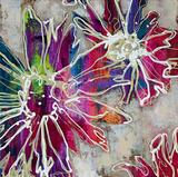 Bridges - Floral Kick II Umělecké plakáty