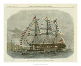 Antique Clipper Ship I Print