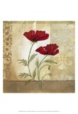 Red Poppies I Print by Marianne D. Cuozzo
