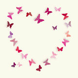 Butterfly Heart II Posters par Sasha Blake