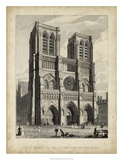West Front-Notre Dame Posters by A. Pugin