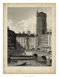 Place du Chatelet Giclee Print by A. Pugin