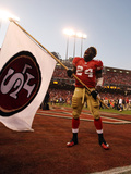 San Francisco 49ers and New Orleans Saints: Anthony Davis Photographic Print by Ben Liebenberg