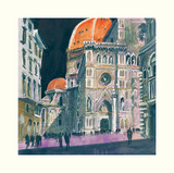 Santa Maria del Fiore, Florence Prints by Susan Brown