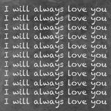 Te amaré siempre, en inglés Láminas por Hakimipour-ritter,
