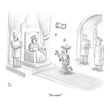 """Too soon?"" - New Yorker Cartoon Premium Giclee Print by Paul Noth"