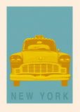 New York - Cab Prints by Ben James