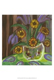 Vibrant Still Life I Print by Lisa Choate