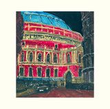 Late Night Performance, Royal Albert Hall, London Poster by Susan Brown