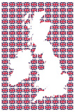 Union Flags I Prints by  The Vintage Collection