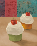 Cherry Cupcake II Posters by Vivien Rhyan