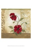 Red Poppies II Prints by Marianne D. Cuozzo