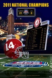 Alabama 2011 National Champions Posters