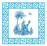 Blue China I Kunstdrucke von Jackie Von Tobel