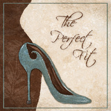 The Perfect Fit Poster by Gina Ritter