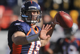 Denver Broncos and Pittsburgh Steelers: Tim Tebow Photo by Chris Schneider