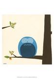 Orchard Owls I Poster von Erica J. Vess