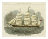 Antique Clipper Ship IV Pósters