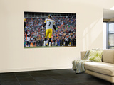 Denver Broncos and Pittsburgh Steelers: Ben Roethlisberger Wall Mural by Jack Dempsey