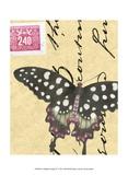 Le Papillon Script IV Posters