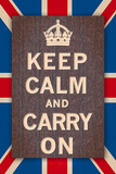 Keep Calm Britain 高画質プリント :  The Vintage Collection