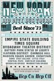 New York Tours '73 Print