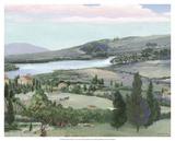 Lavender Tuscany I Kunst von Victor Valla