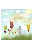 Owl Land Prints by Ingrid Blixt