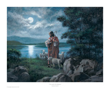 The Lord Is My Shepherd Posters by James Seward