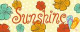 Sunshine Posters by Rebecca Lyon