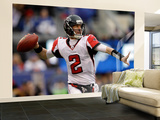 Atlanta Falcons and New York Giants: Matt Ryan Wall Mural – Large by Matt Slocum