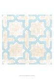 Garden Tile I Print by Chariklia Zarris