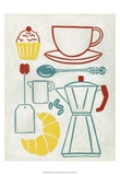 Sunday Brunch Poster by Chariklia Zarris