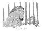 """So near and yet so far!"" - New Yorker Cartoon Premium Giclee Print by Gahan Wilson"