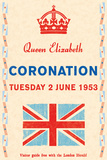 Coronation Day, 1953 Art by  The Vintage Collection