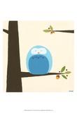 Orchard Owls III Kunst van Erica J. Vess
