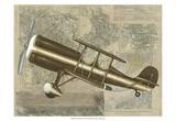Tour by Plane I Print by Chariklia Zarris