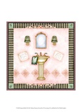 Pampered Bath II Prints by Barbara Kenney