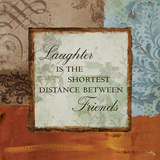 Laughter Print by Elizabeth Medley