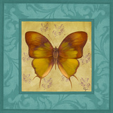 Colorful Wings Square I Prints by Vivien Rhyan