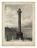 Colonne de la Place Vendome Giclee Print by A. Pugin