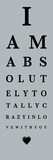 The Vintage Collection - Eye Chart I - Poster