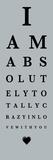 Eye Chart I Posters