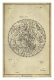 Antique Astronomy Chart II Giclee Print by Daniel Diderot
