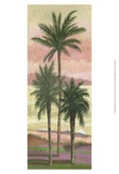 Blush Palms II Print by Victor Valla
