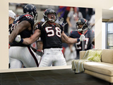 Houston Texans and Cincinnati Bengals: Brooks Reed, Quintin Demps Wall Mural – Large by Tony Gutierrez